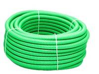 Gaine Verte Fendue PVC 18mm Rouleau de 30m